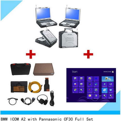 Supplier BMW Icom a2 with icom win 7  2018.5  software HDD  Installed on Panasonic CF-30